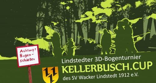 """Lindstedter 3D-Bogentunier """"Kellerbusch.Cup"""""""
